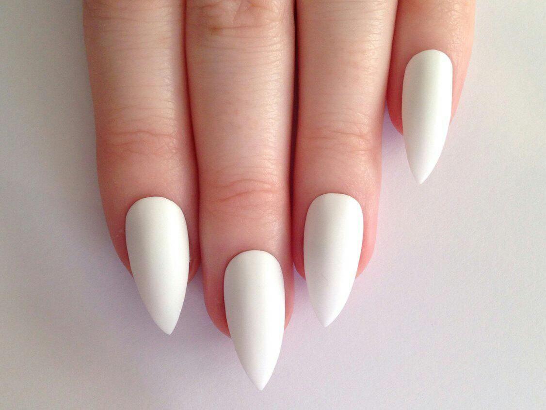 Дизайн ногтей «белый френч 105 оригинальных идей