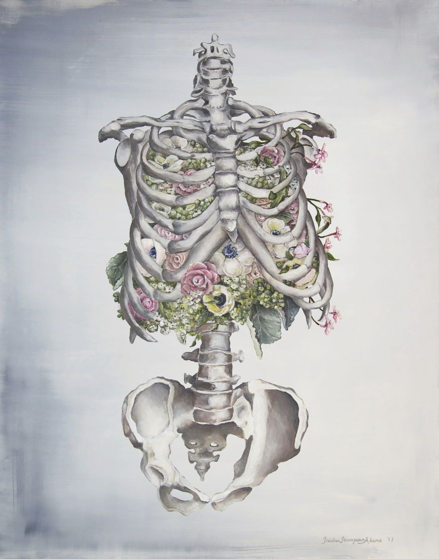 I Intertwine Nature And Human Anatomy To Create These Paintings ...