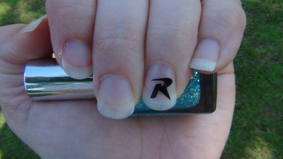 Letter R Symbol Nail Art Decals Original By Trinitynails On Etsy
