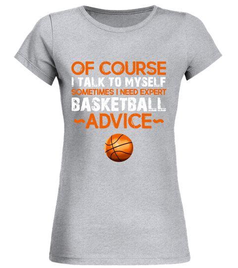 BASKETBALL ADVICE Round neck T-Shirt Woman basketball tshirts ...