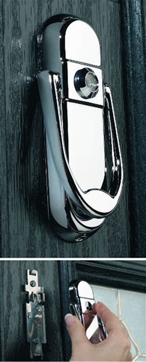 Image result for Modern Door Knockers with Viewer ...