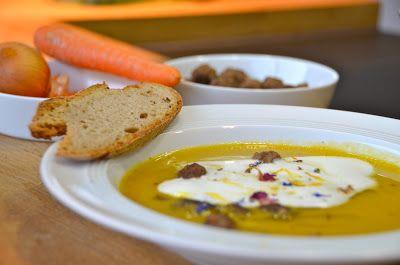 limeslounge: Suppenliebe, heute mit Karotten und Linsen.