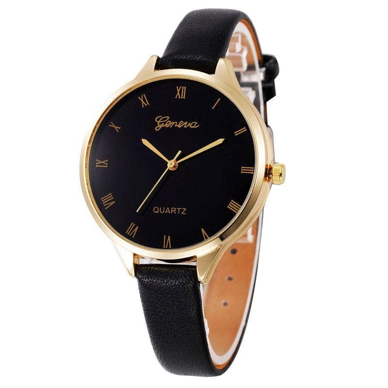 >> Click to Buy << Women Casual Watches Checkers Faux Leather Quartz Analog Wrist Watch Luxury Bracelet Digital Relogio Feminino Saat Montre Femme  #Affiliate