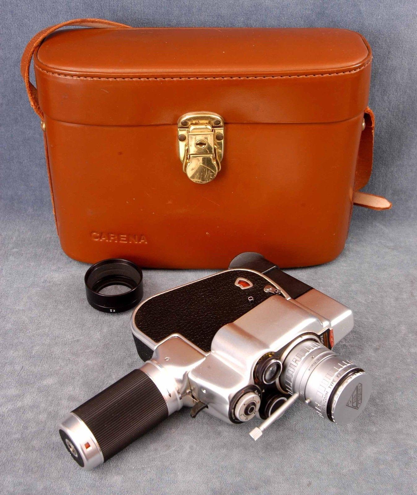 Carena Zoomex Vintage Cameras Vintage Camera Camera Bag