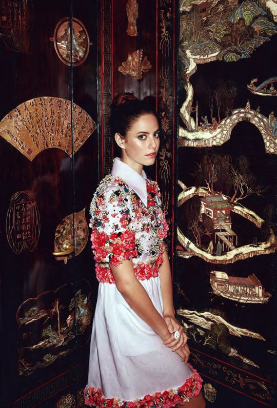 Kaya Scodelario - InStyle UK - March 2015
