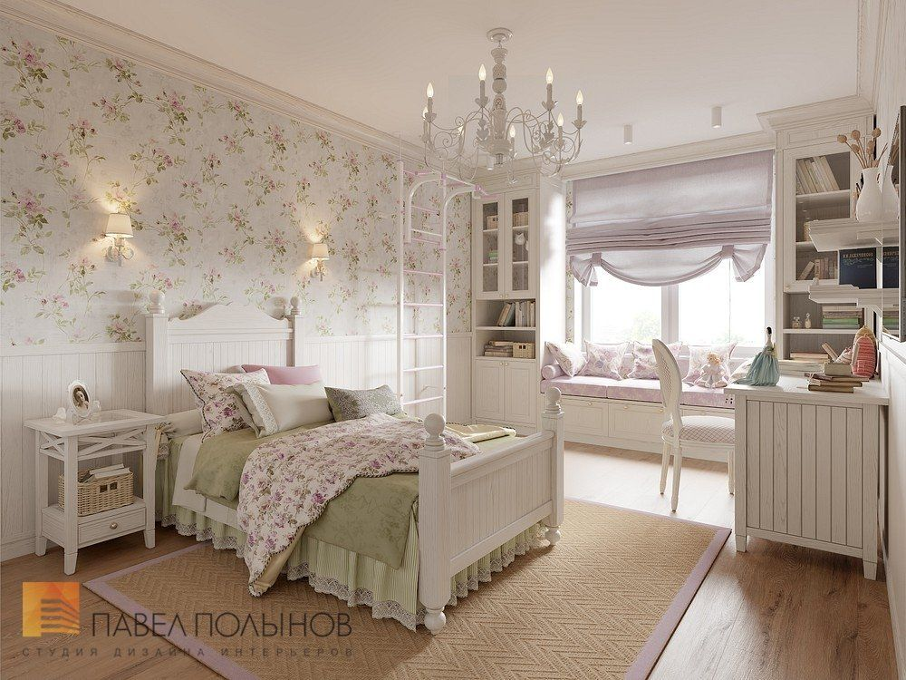 Фото: Детская комната для девочки - Интерьер квартиры в ...