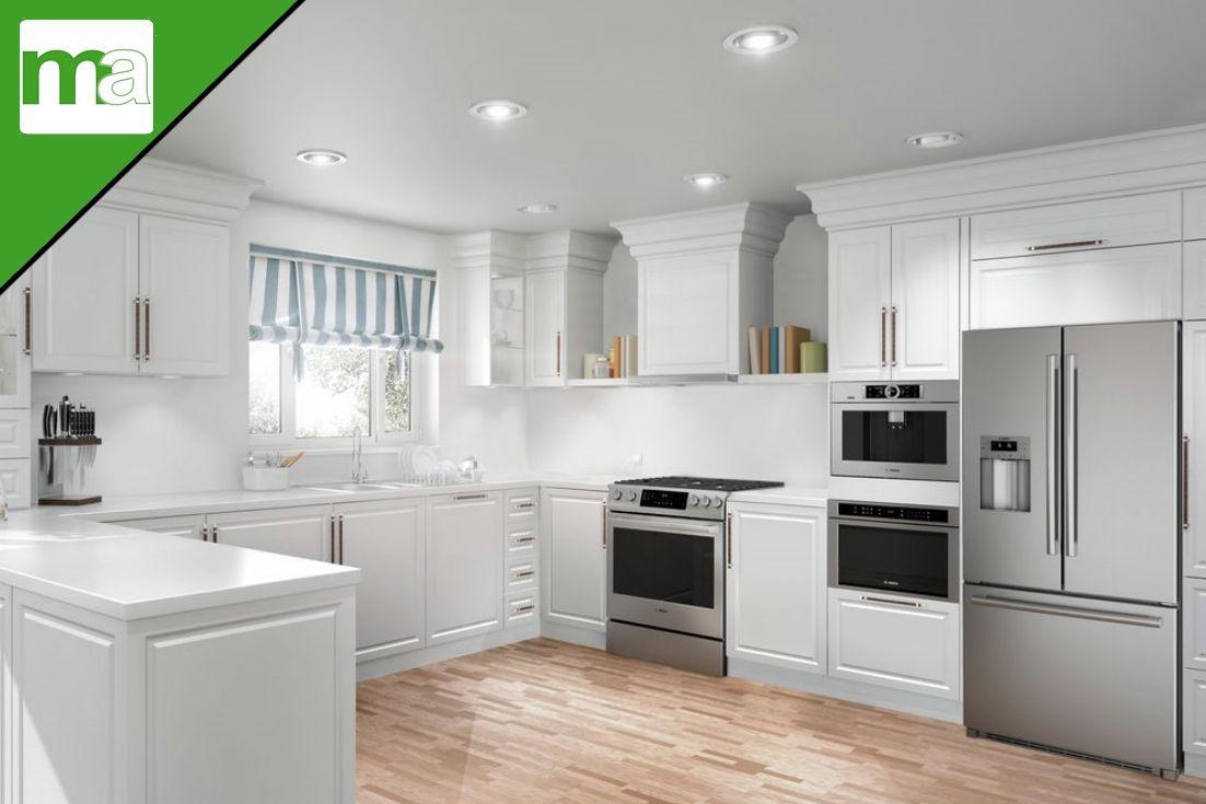 Open Concept Kitchen With Bosch Appliances Open Concept Kitchen French Door Bottom Freezer Bosch Appliances