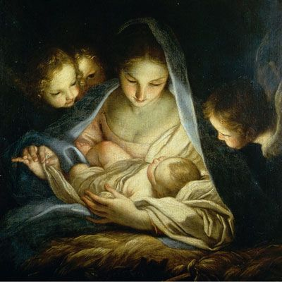 Fall on your knees. Oh hear the angel voices. Oh night divine, oh night, when Christ was born ...