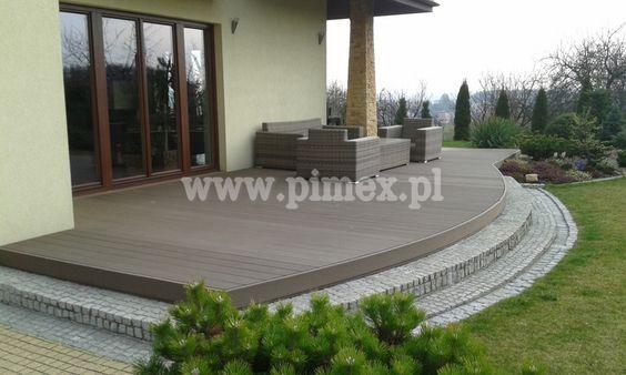 Bielone Deski Tarasowe Szukaj W Google Patio Wooden Terrace Backyard Deck