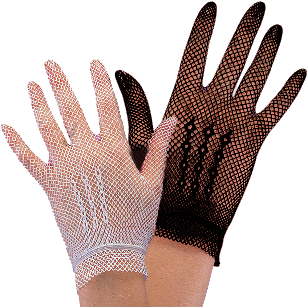Black fishnet gloves, Fantasy Festival, $11.19
