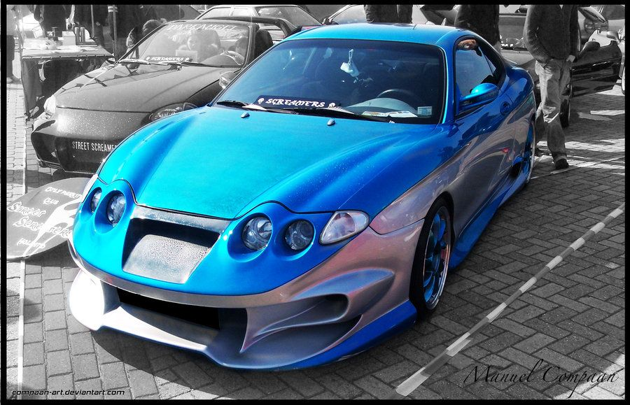 Deviantart More Like Hyundai Tiburon By J00v1