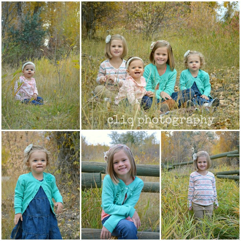 children (girl) poses / family pictures / fall family session love ...