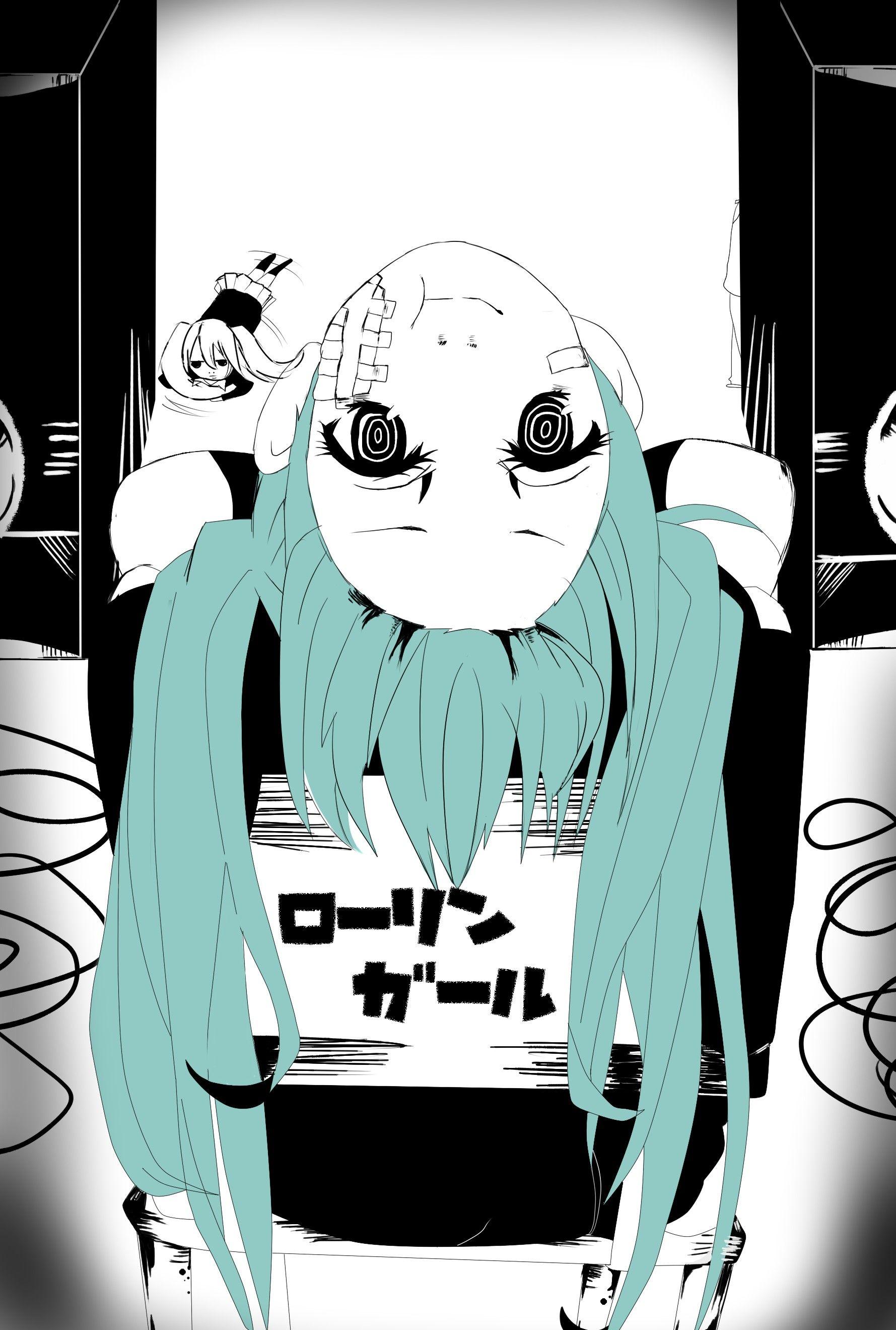 Rolling Girl Hatsune Miku Miku Anime Hatsune Miku