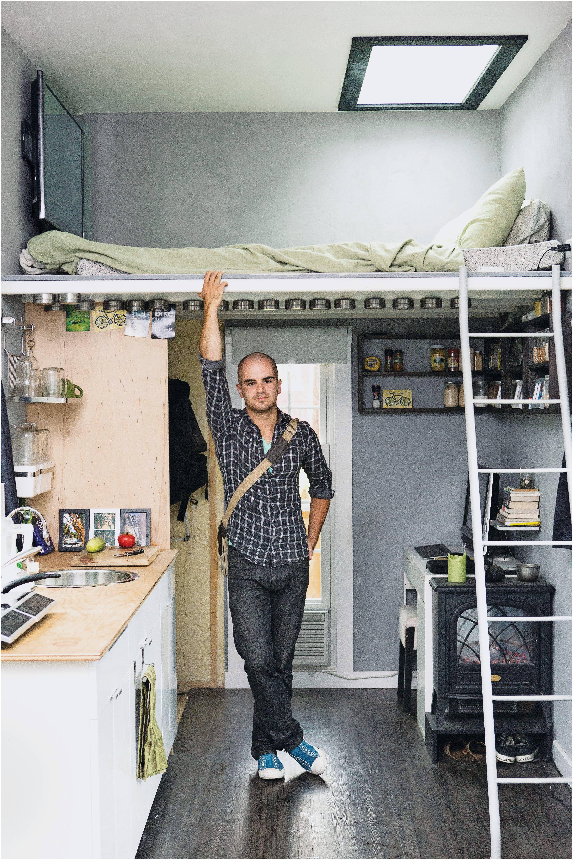 Beautiful Loft In Poland Micro Interior Design Pinterest For Alternative Small House Plans Loft Tedxvermilio Small Room Design Tiny House Design Small Spaces