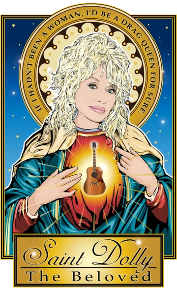 Photo of Saint Dolly The Beloved Poster