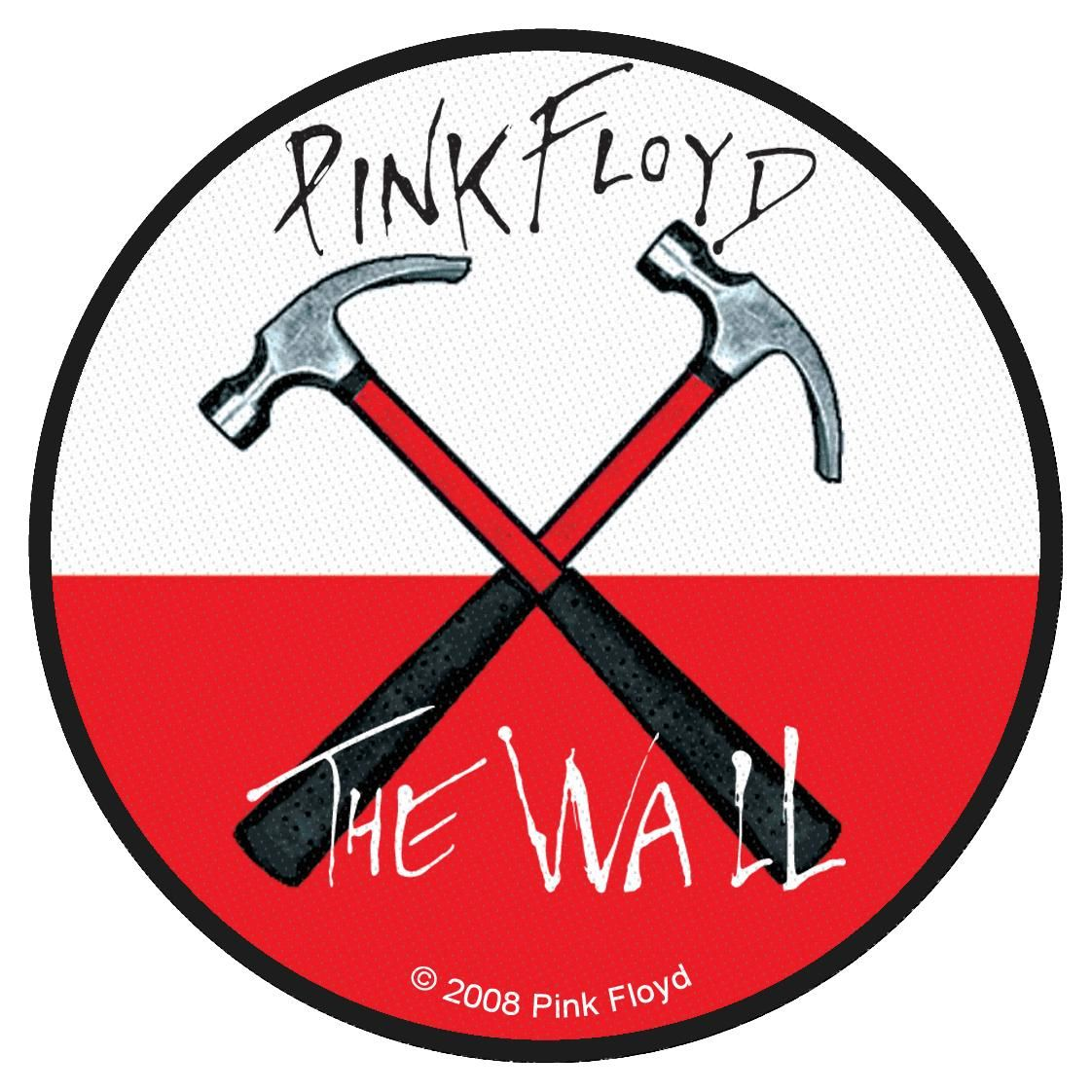 Pink Floyd The Wall Logo By Christopher Roob Вышивка шерстью