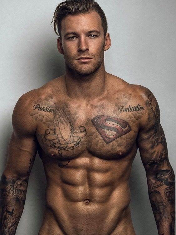 Hot tattoo men images, stock photos vectors