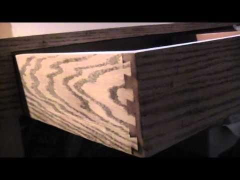 Making Oak look like Zebra Wood! - YouTube