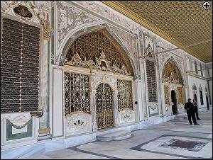 Palacio Topkapi, hogar de los sultanes. Estambul, TURQUÍA.