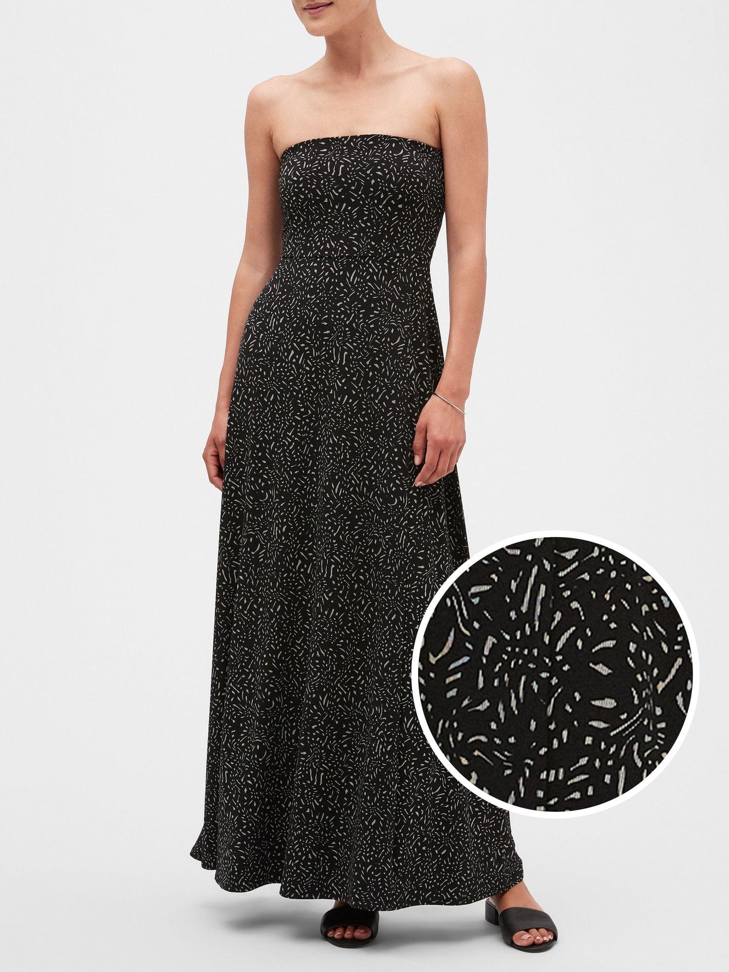 Tube Top Knit Maxi Dress Banana Republic Factory Maxi Knit Dress Strapless Dress Formal Maxi Dress [ 2000 x 1500 Pixel ]