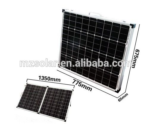 Australian Greenhouse Friendly 100w 120w 160w 180w 240w Folding Solar Panel Solar Panel Charger Solar Panel Kits Portable Solar Power