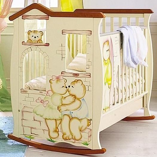33 Modern Baby Cribs In Contemporary Shapes And Vintage Style Modern Baby Cribs Wooden Baby Crib Baby Bed