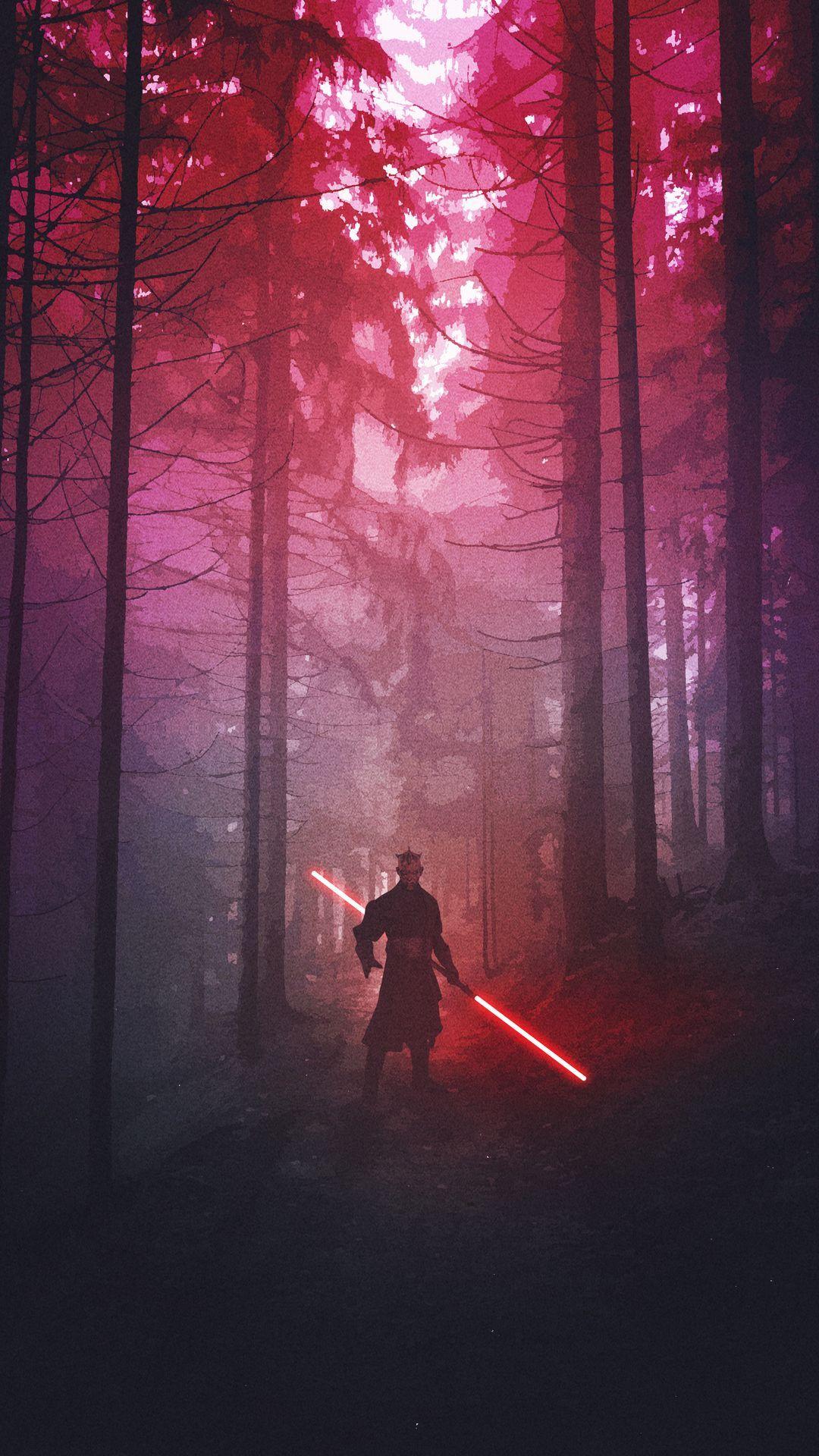 Darth Maul Star Wars Fanart by maxbeechcreative #starwars #darthmaul #fanart #art #artwork