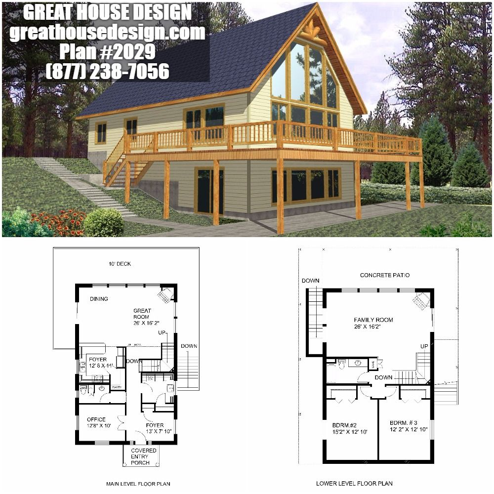 Home Plan 001 2029 Home Plan In 2020 Cabin House Plans