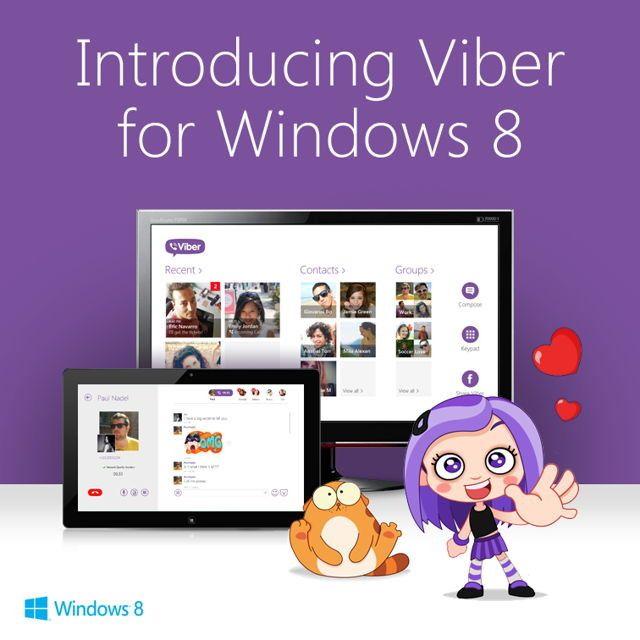 viber per windows 8