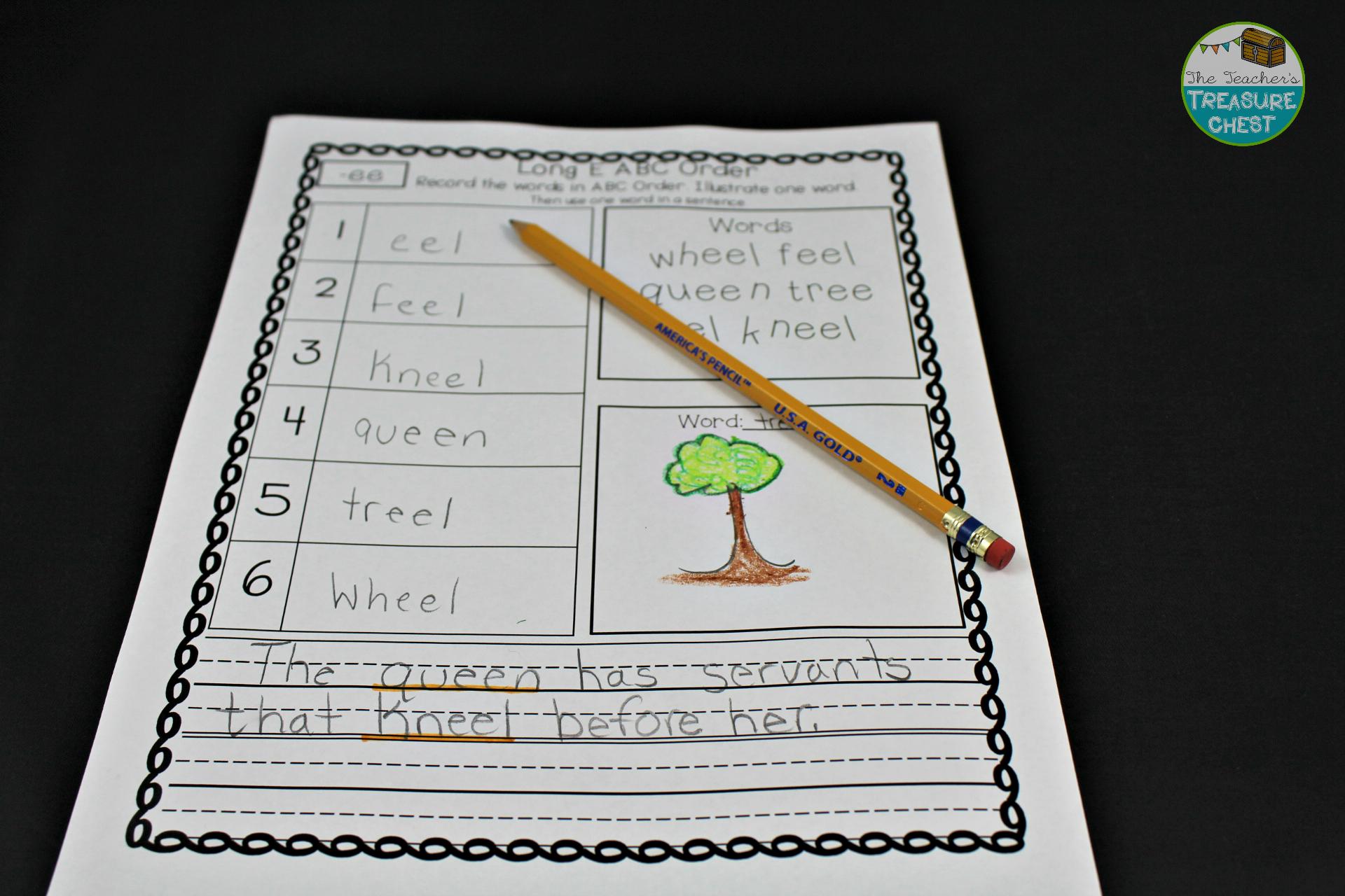 Reading Intervention Binder 2nd Grade