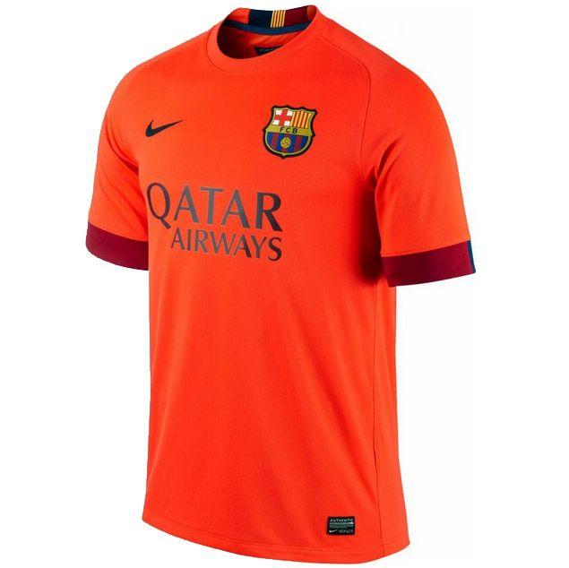 Barcellona Nike 2014 Club 15 Maglie Maglia Stranieri Ufficiale dzBwxFvB