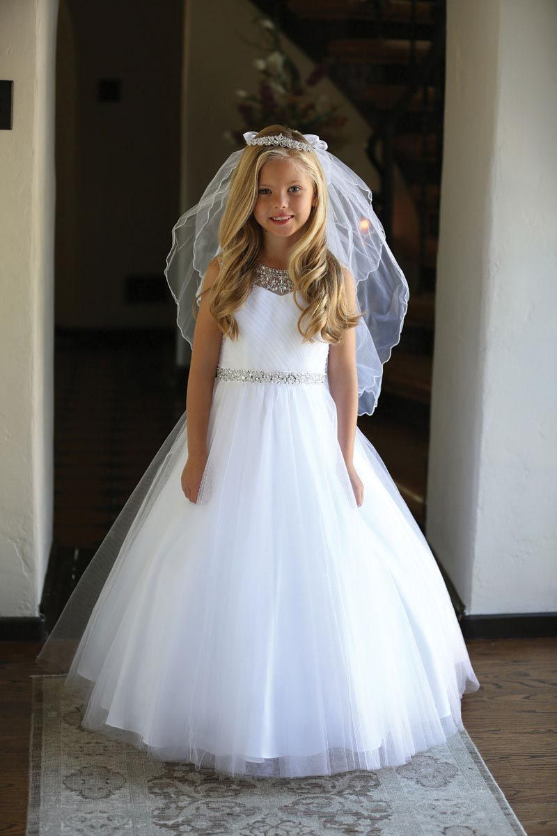 Ag Dr5248com Girls Dress Style Dr5248 White Intricately Beaded Dress With Matc Girls Communion Dresses First Communion Dresses Girls First Communion Dresses [ 1200 x 800 Pixel ]