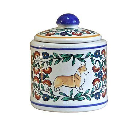 Pembroke Welsh Corgi Dog Sugar Bowl Pembroke Welsh Corgi Corgi Dog Welsh Corgi
