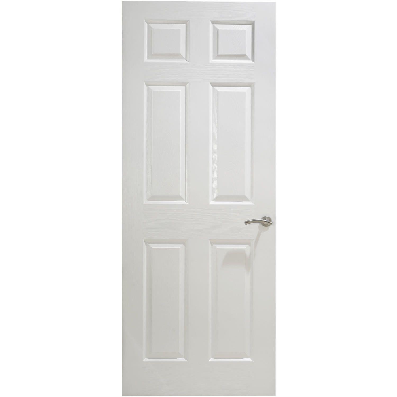 Premdor 6 Panel Textured Internal Fire Door Next Day Delivery