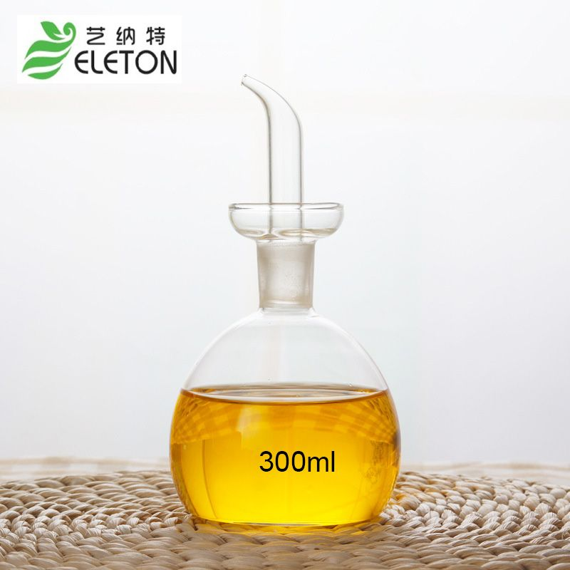ELETON Medium Eco Friendly Oil And Vinegar Bottle Cruet Glass Oil Bottle  Olive Oil Bottles Kitchen Supply Kitchenware