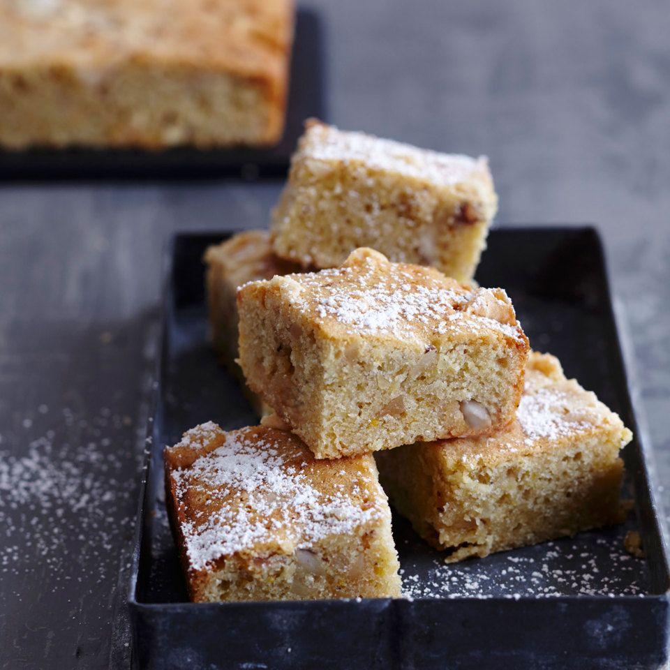 Muskat Blondies Mit Paranussen Rezept Paranuss Rezepte Dessert