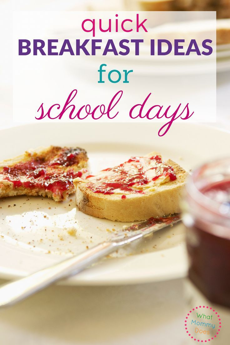 Quick Breakfast Ideas for School Days images