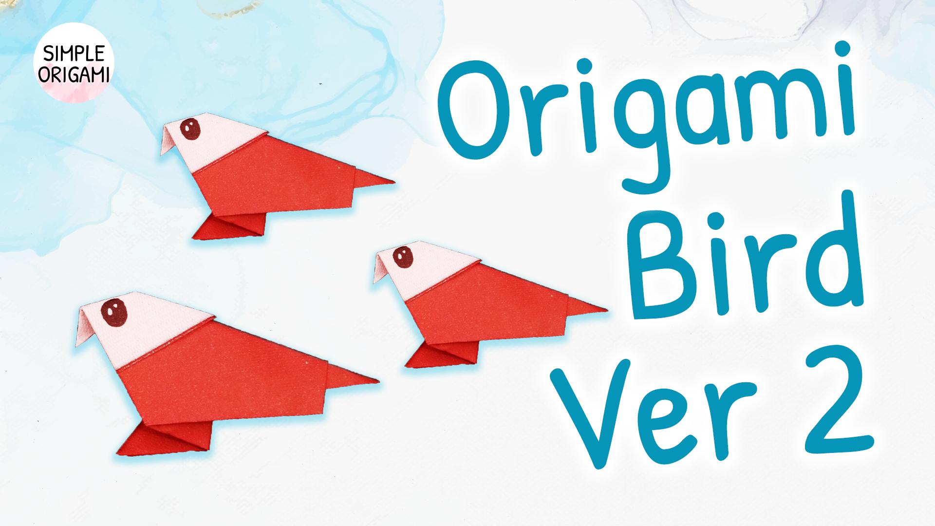 Photo of Origami Bird Ver 2