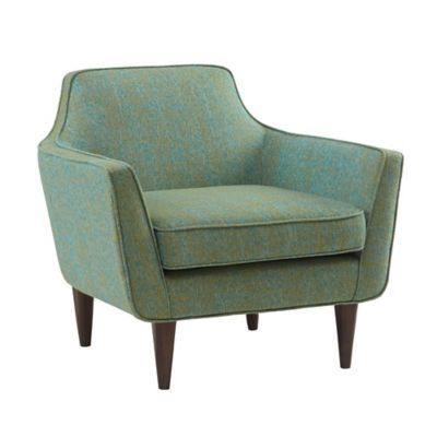 Best Madison Park Taye Mid Century Accent Chair In Blue Green 640 x 480