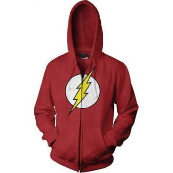 The Flash hoodie (kinda overpriced though) - Visit to grab an amazing super  hero shirt now on sale! 47971bfca62