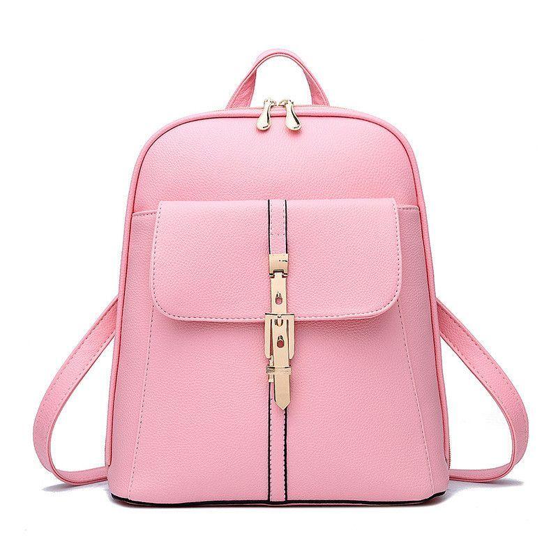 SmartNee Women Backpack Fashion Leather Shoulder Bags Colorful School  Travel Bag for Teenager Girls Backpack Mochila Waterproof c907d6774ff03