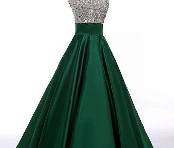 ¡58 Vestidos de 15 años en Verde Esmeralda que Amarás! - Ideas para Fiestas fb4bfe2e62fe