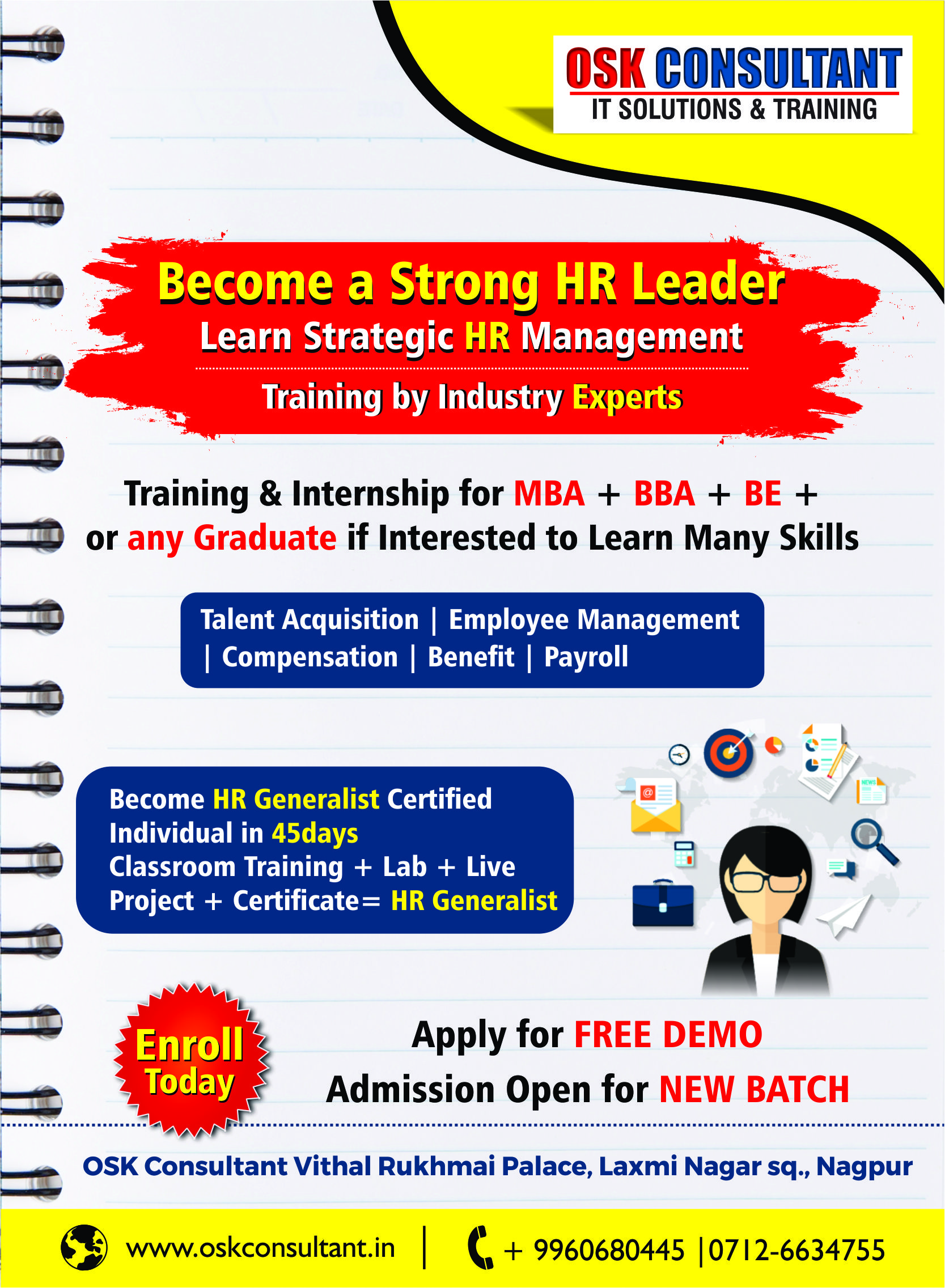 HR Practical Training, Core HR Training which involves Procurement