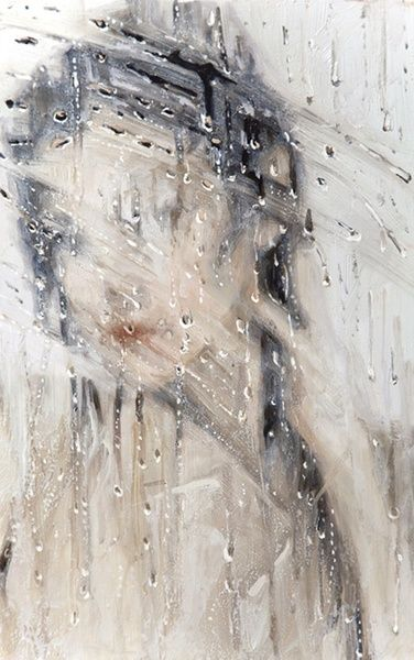 #Acrylic #Art #Faces - lady in the mirror... http://www.ablankcanvas.net