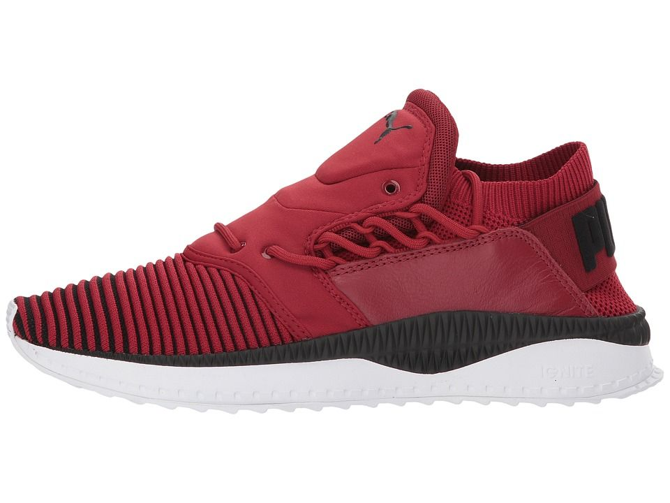 PUMA Tsugi Shinsei evoKNIT Men s Shoes Red Dahlia Puma Black Puma White 0c0f3f91e