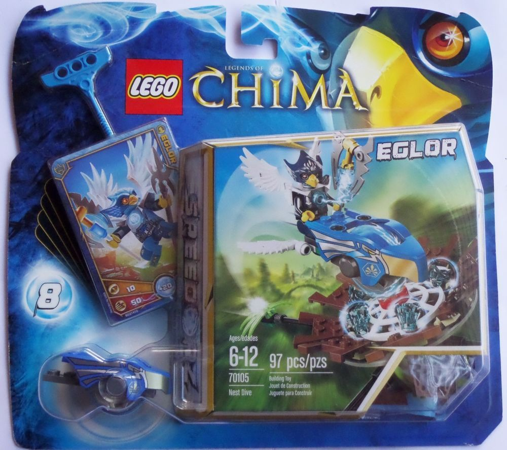 Lego Legends of Chima 70105 Eglor Nest Dive New and Sealed #LEGO