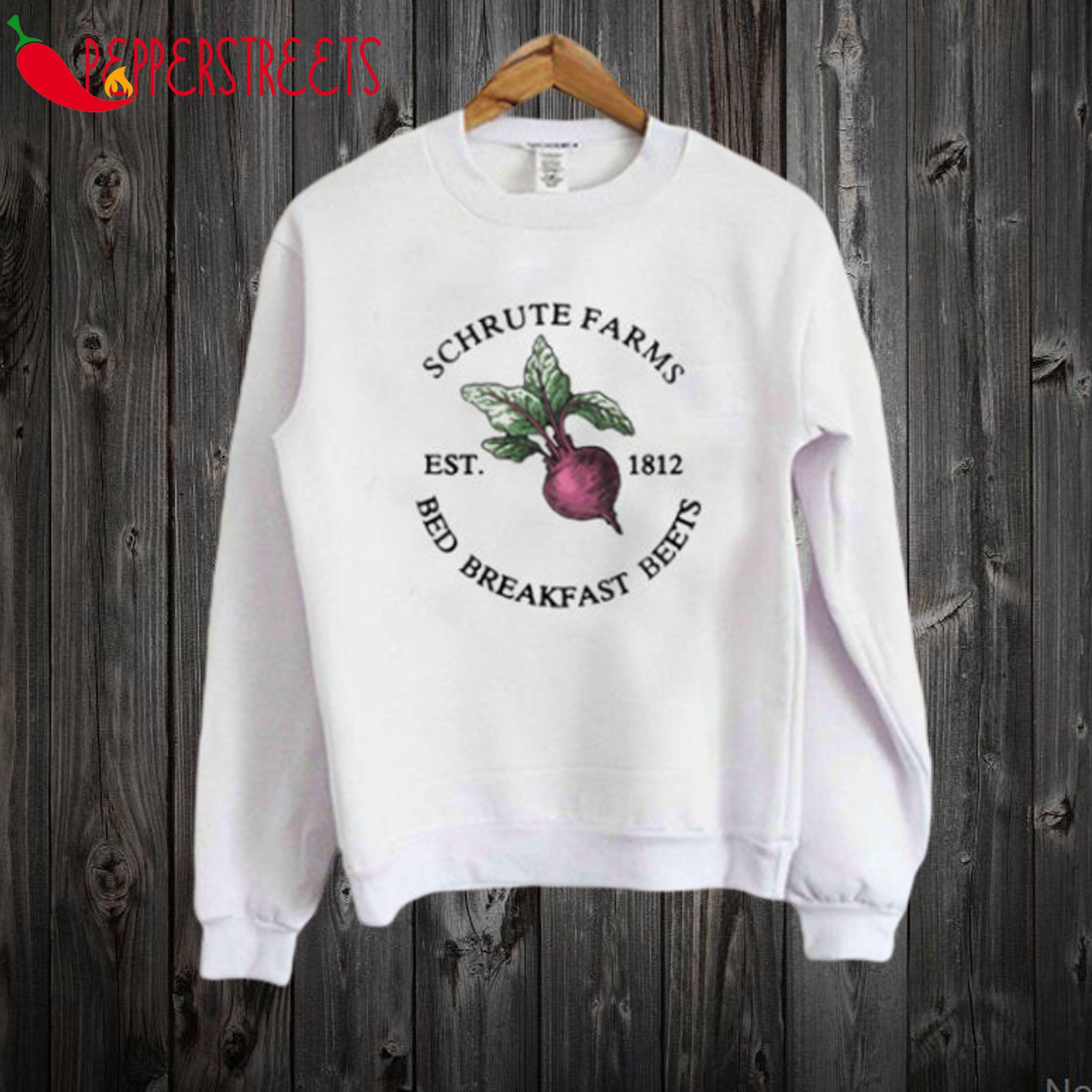 Predownload: Schrute Farms Est 1812 Sweatshirt Sweatshirts Print Clothes Schrute Farms [ 2500 x 2500 Pixel ]