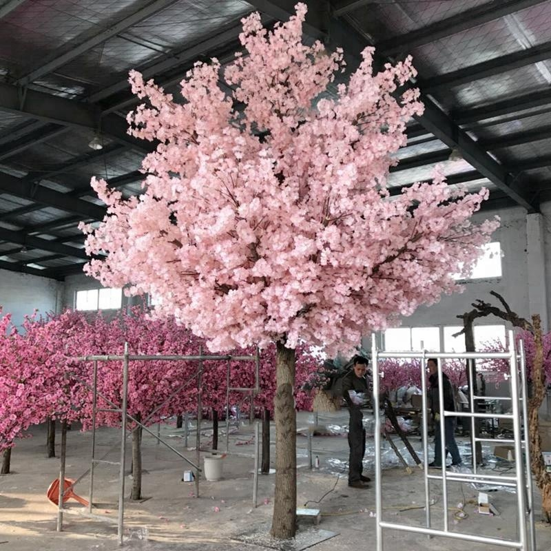 Isevian Wholesale Customized Artificial Silk Peach Cherry Blossom Tree View Artificial Cherry Artificial Cherry Blossom Tree Cherry Blossom Tree Blossom Trees