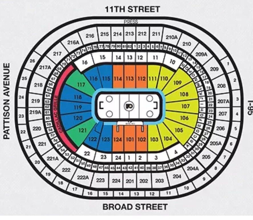 2 Great Philadelphia Flyers Vs Calgary Flames NHL Tickets