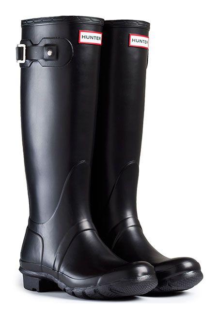 b9805673 Sorte Original Tall Hunter gummistøvler - ModeJagten.dk | Modetøj ...